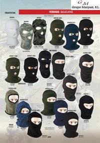 camping and survival  BALACLAVAS