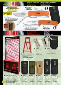exhibitors knives DISPLAYS AND SURVIVAL KITS