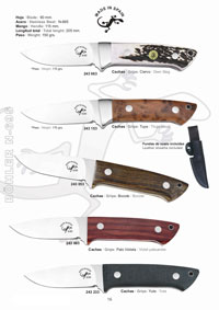 hunting knives hunting knives SALAMANDRA KNIVES BIRCH TREATED