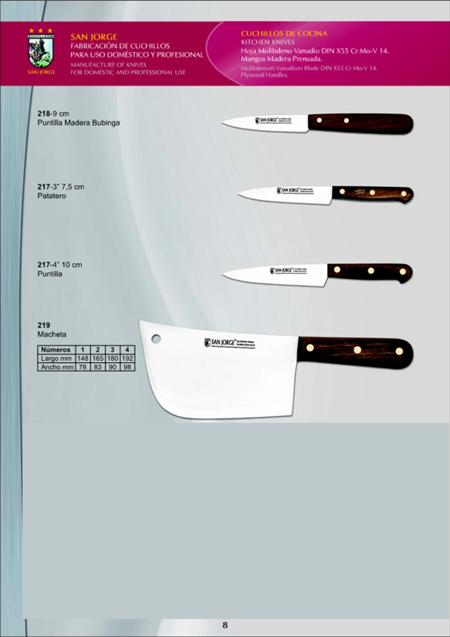 Cuchilleria profesional cocinero cuchillos cocina 3 for Cuchilleria profesional cocina