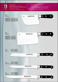 professional knives cook KITCHEN KNIVES 9