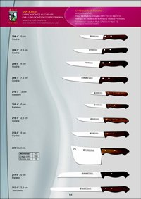 professional knives cook KITCHEN KNIVES 13