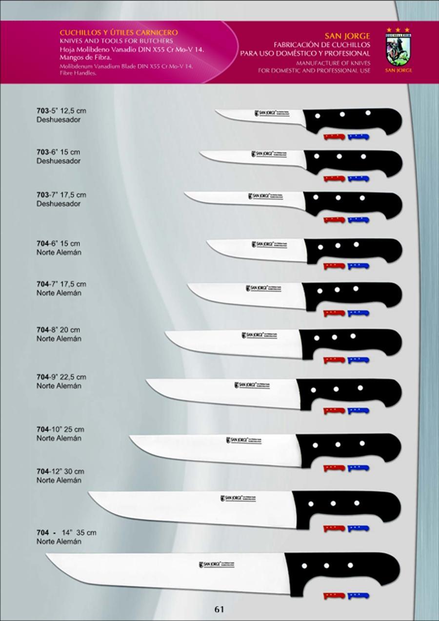 coutellerie professionnelle boucher boucher couteaux san jorge coutellerie. Black Bedroom Furniture Sets. Home Design Ideas