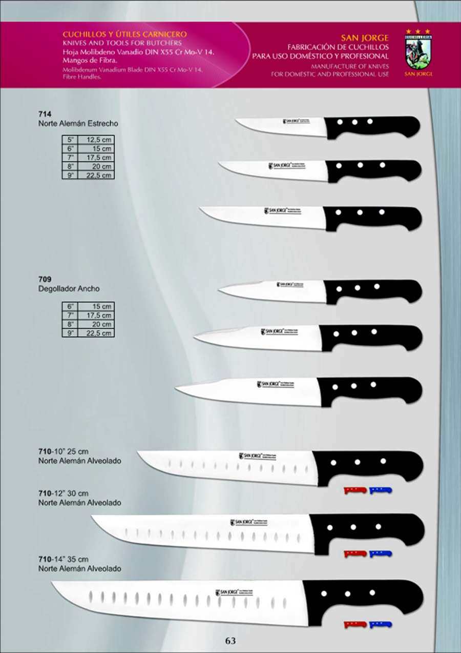 Cuchilleria profesional carnicero cuchillos de carnicero for Cuchilleria profesional cocina