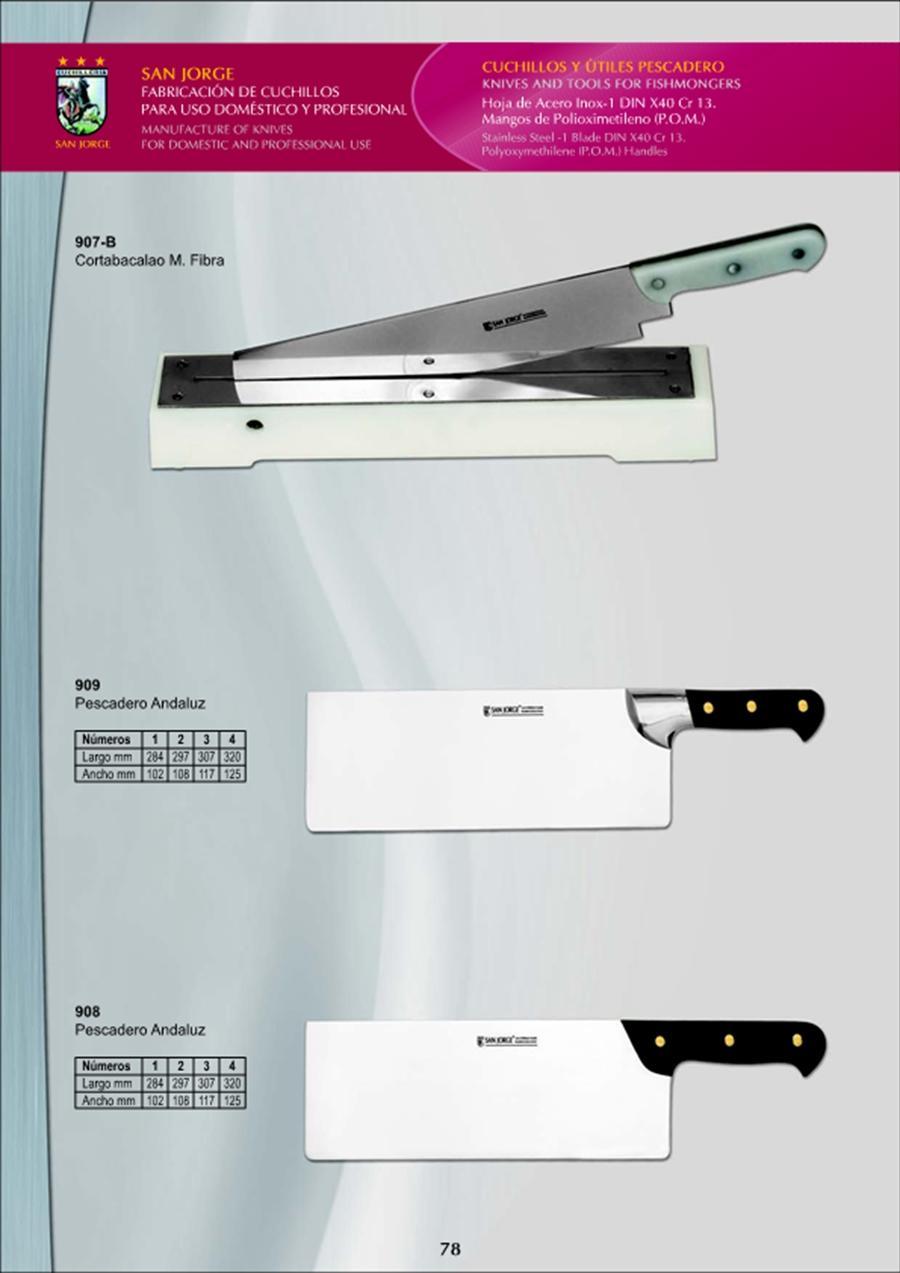Cuchilleria profesional pescatero cuchillos de pescadero for Cuchilleria profesional cocina