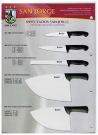 SAN JORGE INJECTED KNIVES