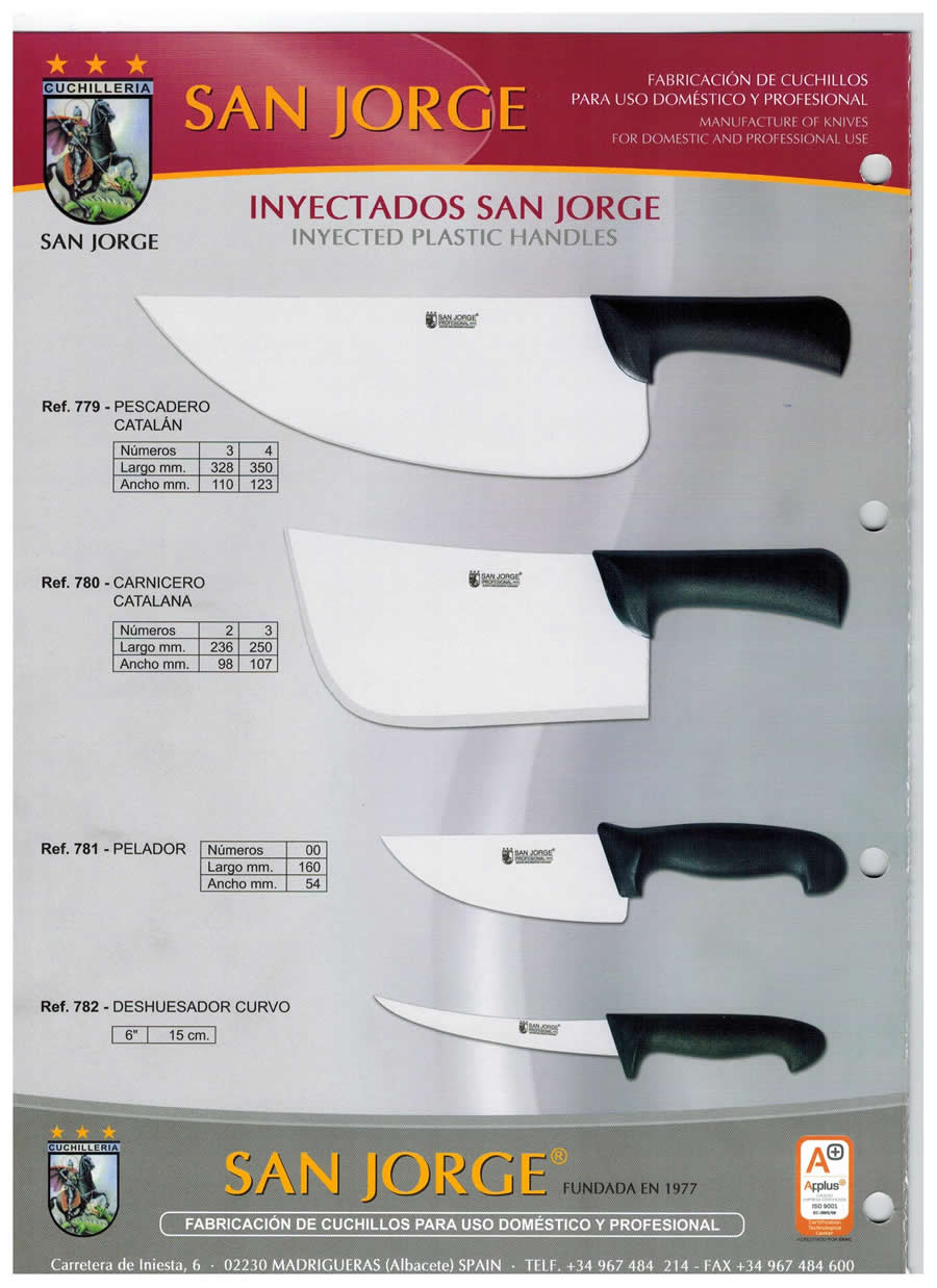 INJECTED KNIVES - San Jorge