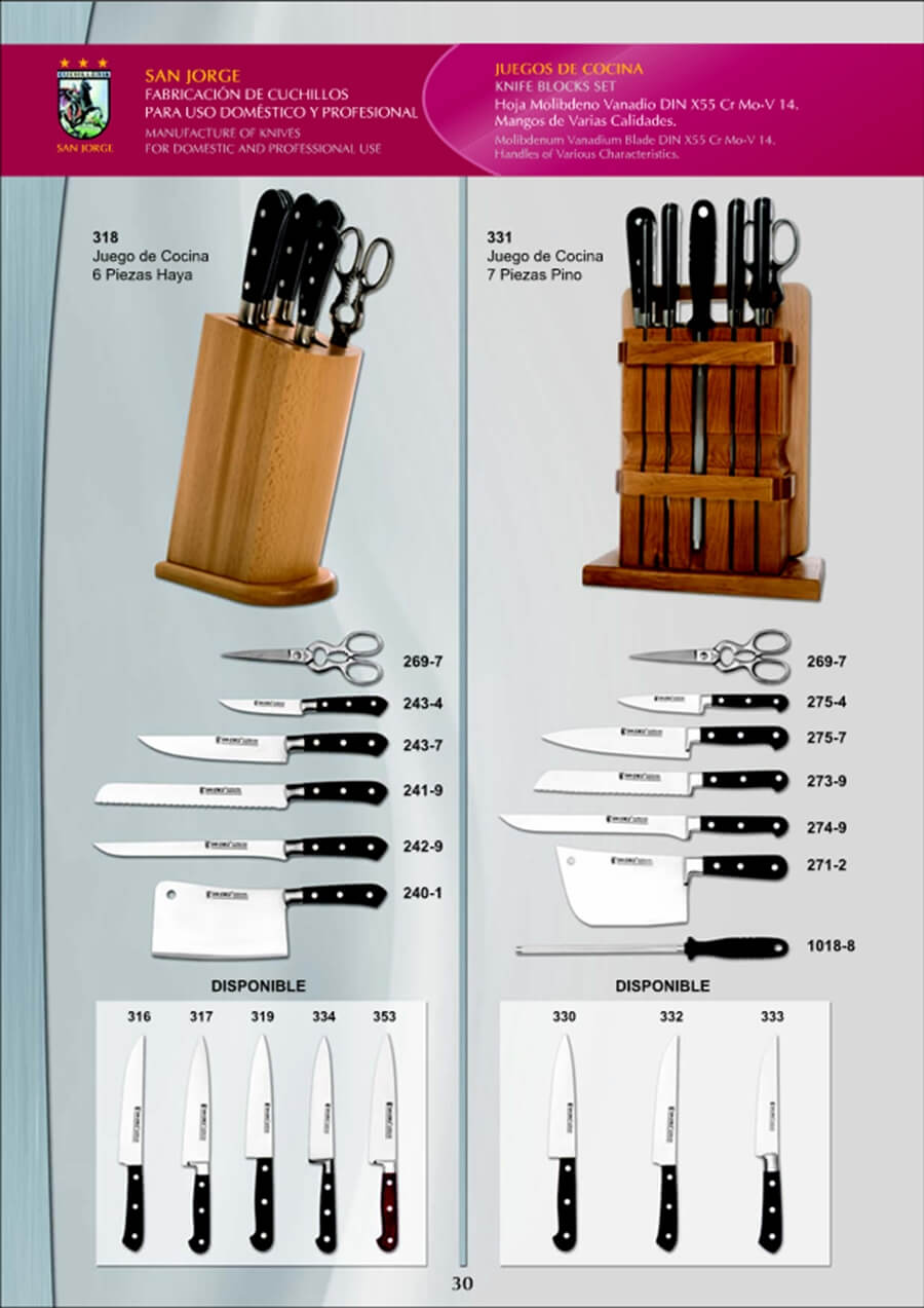 Menaje cocina juegos de cocina juego cuchillos cocina 3 - Juego de cuchillos de cocina ...