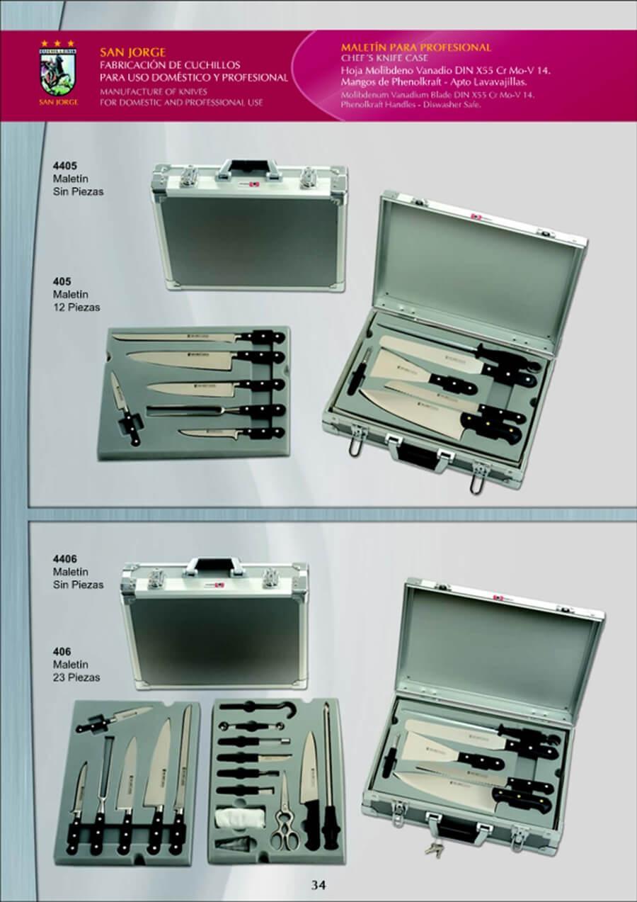 4406 maletin cuchillos san jorge cuchilleria - Manta para cuchillos ...