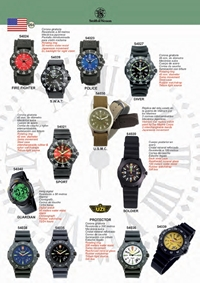 SMITH WESSON RELOJES TACTICOS