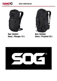 camping and survival  SOG BACKPACKS