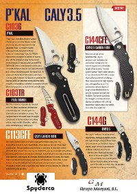 tactical knives  PKAL & CALY TACTICAL KNIVES