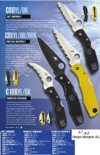 professional knives  SALT SERIES 1 MARITIME KNIVES