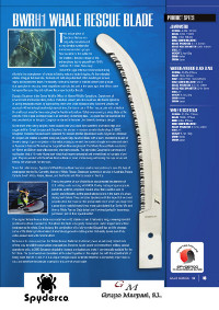 WHALE RECUE BLADE
