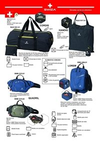 camping and survival soulder bags SWIZA BACKPACK