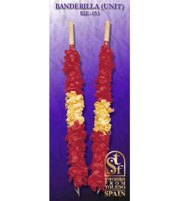 Banderilla Decoracion 653 Swords From Toledo Swords