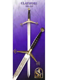 SWORDS FROM TOLEDO CLAYMORE 519
