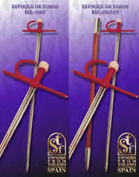SWORDS FROM TOLEDO ESPADA DE TOROS 650 T Y 650 T CV