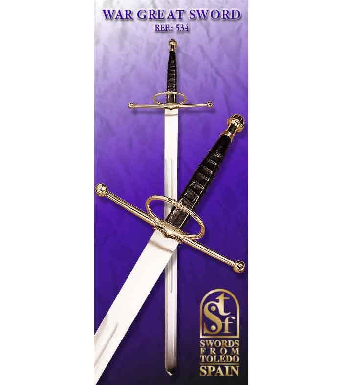 534 espadon de guerra 534 swords from toledo schwerter besteck. Black Bedroom Furniture Sets. Home Design Ideas