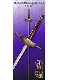 swords FLORETE DE ROSA 167