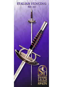 SWORDS FROM TOLEDO FLORETE ITALIANO 162