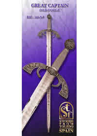 SWORDS FROM TOLEDO GRAN CAPITAN 140NF