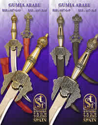SWORDS FROM TOLEDO GUMIA ARABE 607