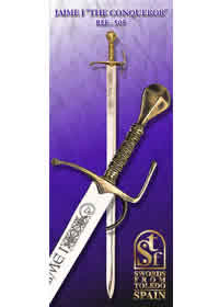 swords JAIME I 505
