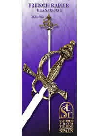swords ROPERA FRANCESA FRANCISCO I 702
