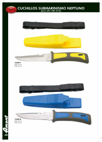 THIRD NEPTUNE SUBMARINISM KNIVES