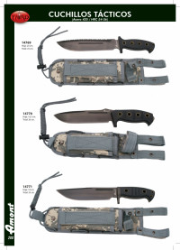 THIRD TACTICAL KNIVES WITH CAMOUFLAGE SHEATH