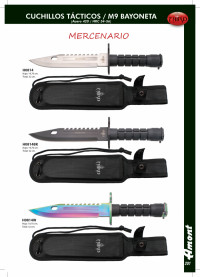 THIRD M9 BAYONETA TACTICAL KNIVES