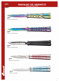 THIRD BUTTERFLY KNIVES