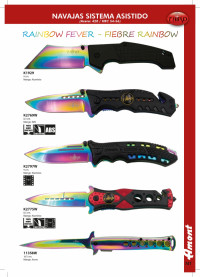 THIRD POCKET KNIVES RAINBOW