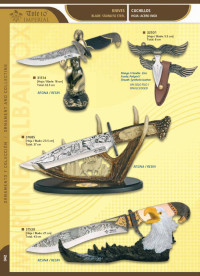 TOLE10 IMPERIAL DECORATED KNIVES
