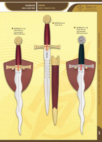 TOLE10 IMPERIAL TEMPLARS KNIVES