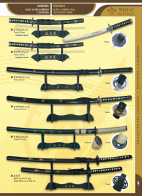swords katanas SAMURAI GAME 3