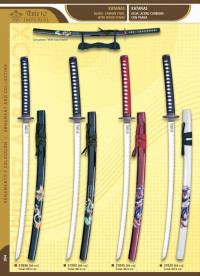 swords katanas SAMURAI CARBON STEEL 3