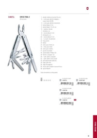 polyvalent outils HERRAMIENTAS MULTIUSOS SWISS TOOL X