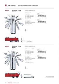 couteaux polyvalent  OUTILS SWISS TOOL X PLUS