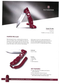 VICTORINOX UTILITY KNIFE HUNTER PRO ALOX