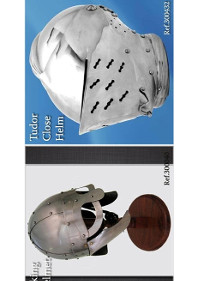 HELMETS VIKING AND TUDOR
