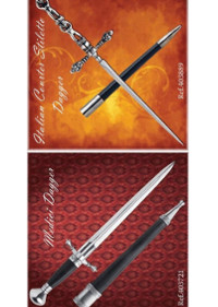WINDLASS DAGGERS MEDICI ET STILETTO