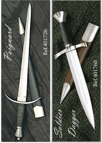 swords knives POIGNARD AND SOLDIER DAGGERS