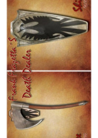 WINDLASS DEATH DEALER HACHE ET BOUCLIER