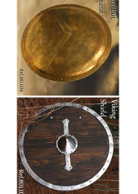 WINDLASS SHIELDS VIKING ET SPARTAN