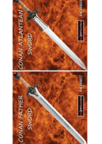 swords SWORDS CONAN FATHER AND ANTLANTEAN