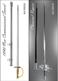 swords SWORDS RAPIER AND 1840