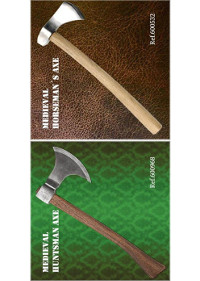swords axes halberds MEDIEVAL AXE WINDLASS