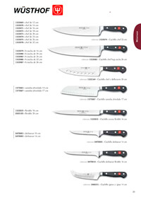 professional knives cook SERIES CLASSIC 3